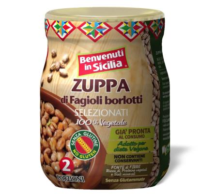 Picture of Zuppa di Fagioli Borlotti