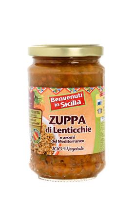 Zuppa di lenticchie 300g