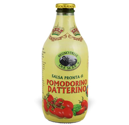 Salsa pronta di pomodorino datterino Regno delle due Sicilie
