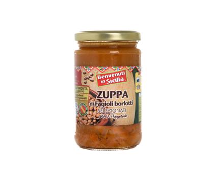 Zuppa di Fagioli Borlotti 300